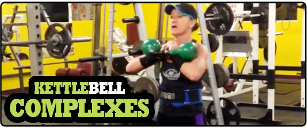 Kettlebell complexes for your overall fitness goals